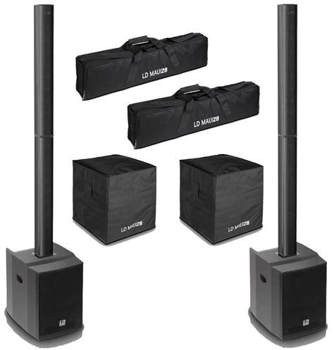 Speaker Toa Column ld systems maui28 1600w dual compact column line array pa