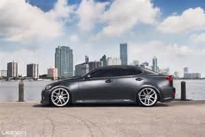 lexus is250 velgen wheels vmb5 matte silver