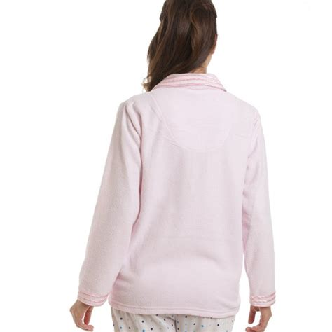 bed jacket light pink button up bed jacket