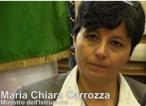 ministro istruzione carrozza chiara carrozza ministro istruzione direttanews it