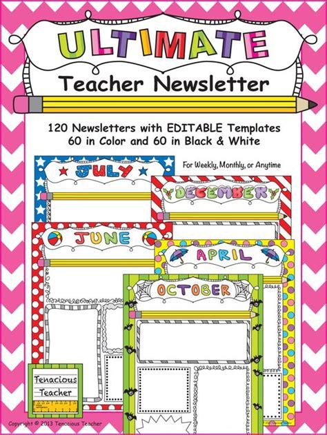 font newsletter design teacher newsletter the font and in color on pinterest