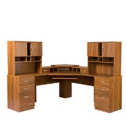 Home Office Corner Desk Furniture Os Home Office Furniture Office Adaptations Corner Computer Desk With Monitor Platform