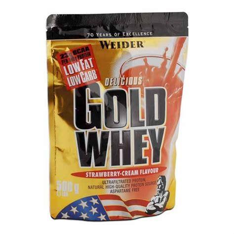 Weider Whey Weider Gold Whey Strawberry Powder A Dietary Supplement