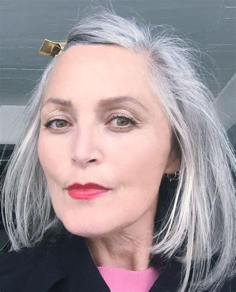olive skin women with salt and pepper hair enhanced with highlights and lowlights 58 best grey images on pinterest white hair going gray