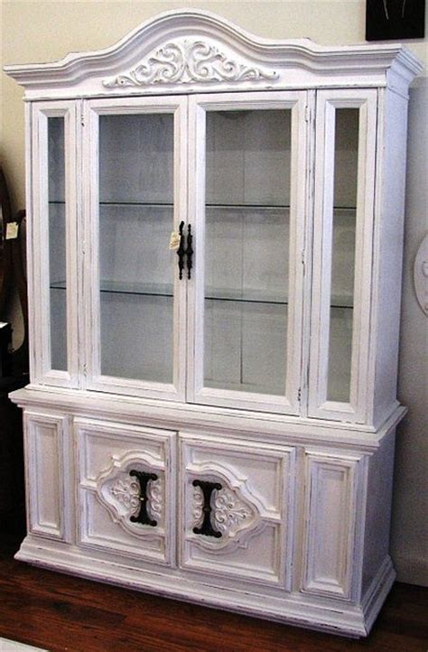 french provincial china cabinet craigslist 17 best images about painted china hutch and buffet on
