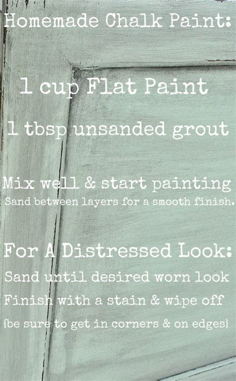 diy chalk paint recipe with unsanded grout chalk paint vs ascp