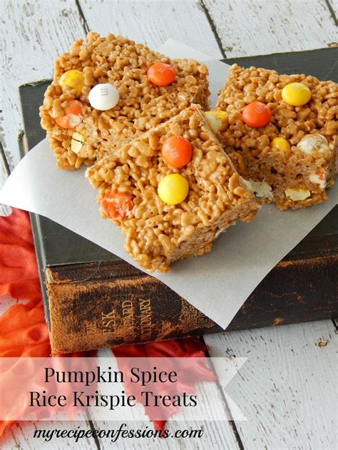 pumpkin spice rice krispie treats different types different types of and recipe