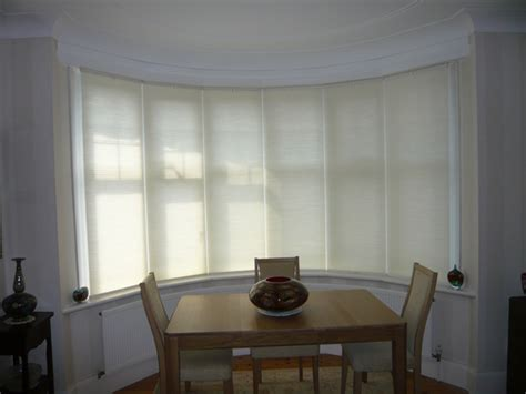 blinds for a bow window bow window shades house design ideas window treatments