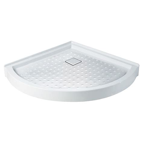 Corner Shower Pan by Quot Quot Corner Shower Base Rona