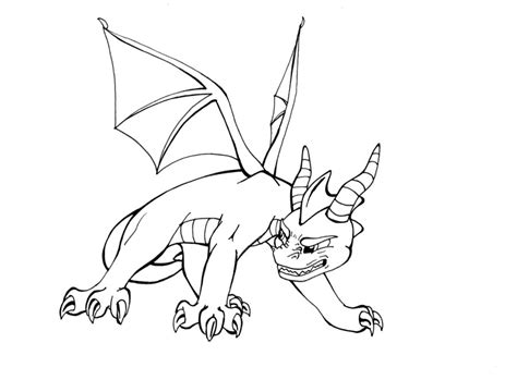 coloring pages of spyro the dragon deviantart more like spyro the dragon custom ps1 by