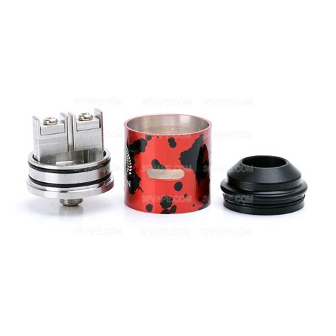 The Rig Kit Mechanical Clone rig v3 style black 18650 mechanical mod terk style rda kit