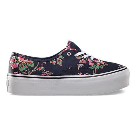 vans con i fiori vans 174 shoes clothing more