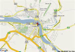 map of crowne plaza hotel fredericton lord beaverbrook