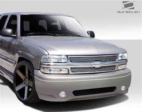 1999 2002 chevy silverado 2000 2006 tahoe suburban duraflex denali look front bu