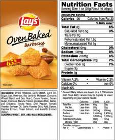 Backyard Bbq Nutrition Before And After Bbq Chips Nutrition Facts