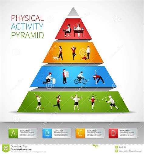 Kaos Fitness World Graphic 6 pir 225 mide de la actividad f 237 sica infographic ilustraci 243 n