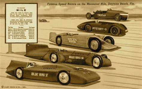Daytona Records Hotrods N Customs Daytona Les Premiers Records Du Monde De Vitesse