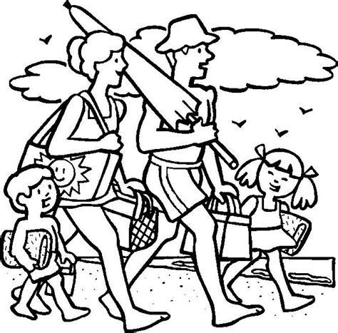 summer santa coloring page fam 237 lia vai 224 praia colorir desenhos