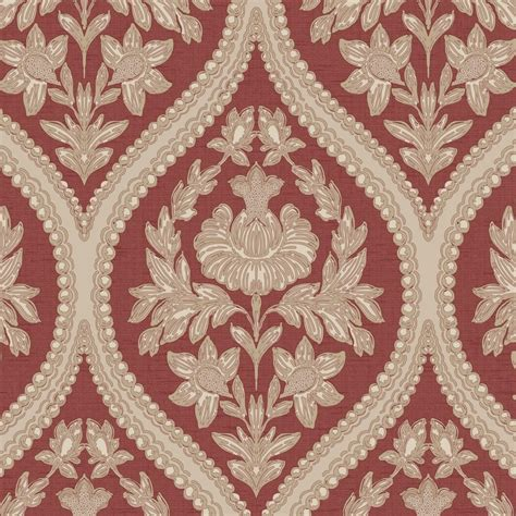 red damask wallpaper home decor holden decor pienza damask wallpaper red 35483 holden