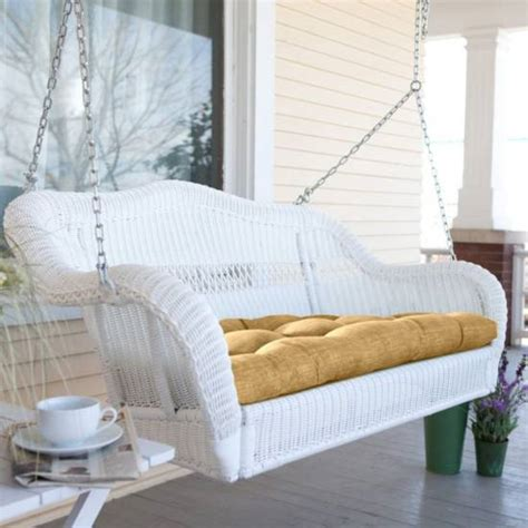 wicker outdoor swing 18 modern outdoor wicker furniture ideas
