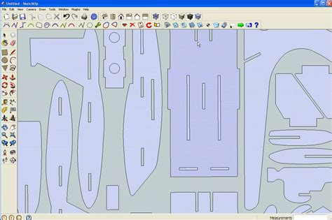 Lu Plafon Skp 795 7 sketchup f15 2d dxf to 3d with plugins i ve created