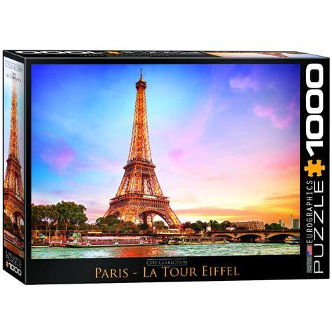 Puzzle Eiffel Tower eiffel tower jigsaw puzzle puzzlewarehouse