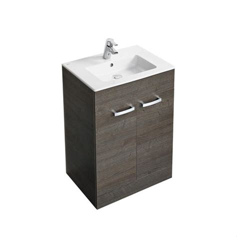 Floor Standing Vanity Unit by Tempo 600 500mm Floor Standing Vanity Basin Unit Basin