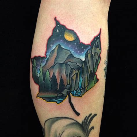 tattoo design vire 25 breathtaking mountain tattoos that flat out rock