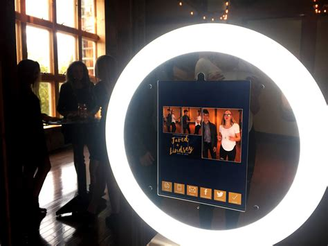 ring light photo booth ipad photo booth kiosk for sale ultra portable ring light