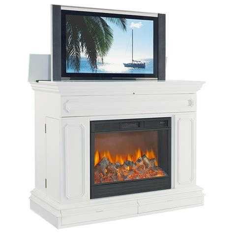 fireplace tv lift 17 best images about fireplaces on modern fireplaces fireplaces and mantles