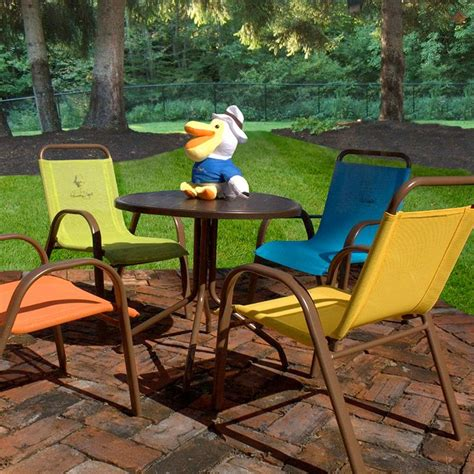 Child Patio Chair Table And Chairs Patio Outdoor Set 5 Dining Seat Furniture Ebay
