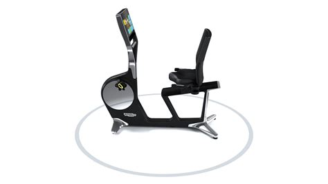 Recline Js by Personal Recline Easy Access Exercise Bike Technogym