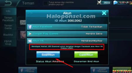 email mobile legend 2 cara hack atau mobile legends terbukti