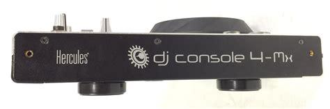 console per dj usate hercules dj console 4 mx attrezzatura per dj hercules