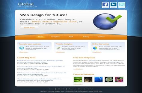html business templates free with css lawyer free css website template
