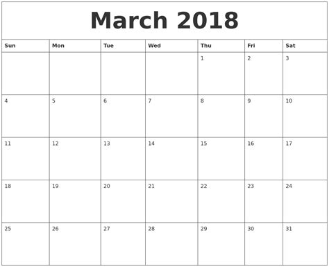 printable calendar march april 2018 march 2018 printable calendar pdf
