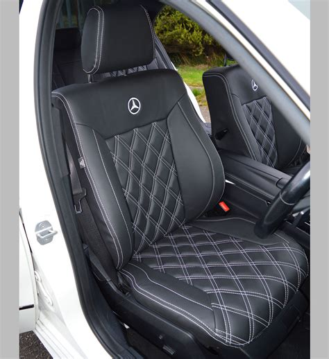 mercedes seat covers mercedes e class w212 amg tailored seat covers car