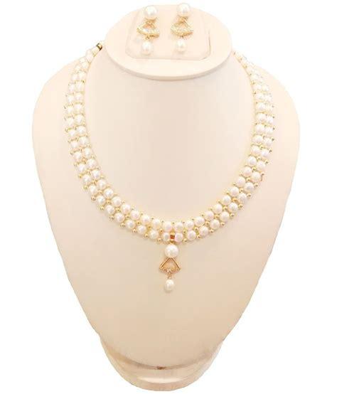 S F Sf6182qz Necklace Offwhite jewelry pearls style guru fashion glitz