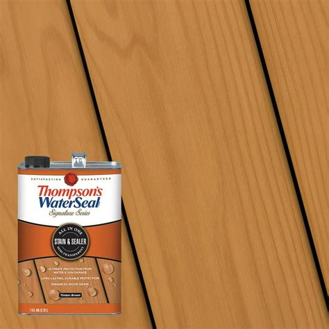 thompson water seal stain colors shop thompson s waterseal signature pre tinted timber