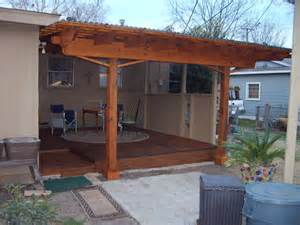 pics for gt corrugated metal patio roofing