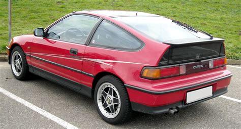 Honda Csx Honda Crx History Photos On Better Parts Ltd