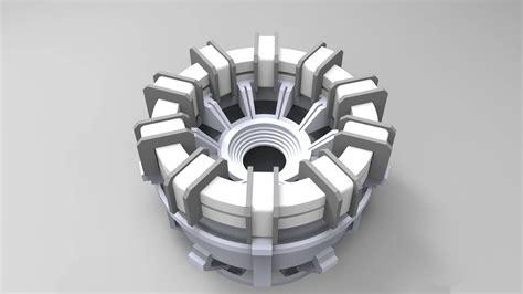 arc reactor iron man wallpaper hd airwallpapercom