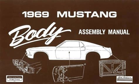 books on how cars work 1969 ford mustang transmission control 1969 ford mustang body assembly manual book instructions drawings oem ebay