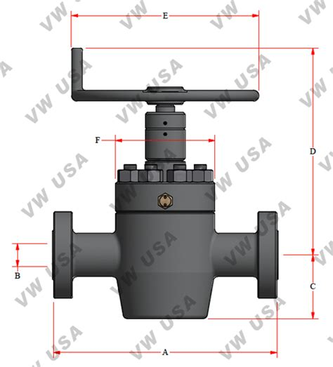 gate valve diagram slab gate model fc