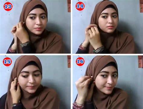 tutorial pashmina natasha farani tutorial hijab pashmina kuliah ala natasha farani 2017