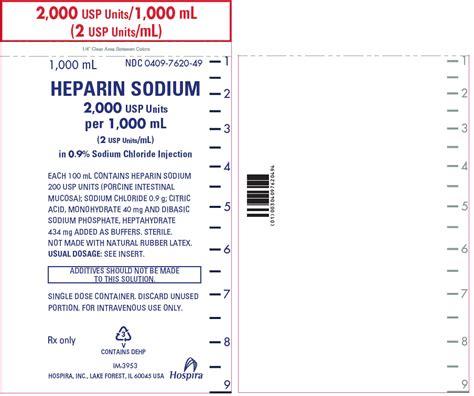 Inviclot Heparin Sodium Injection dailymed heparin sodium heparin sodium injection solution