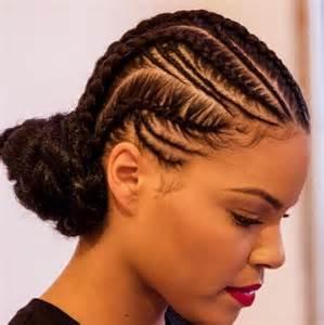 23 elegant cornrow braids for black women