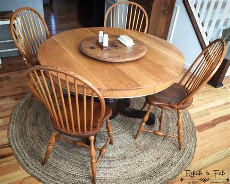 Arm R Seal Antique Oak Table   General Finishes Design Center