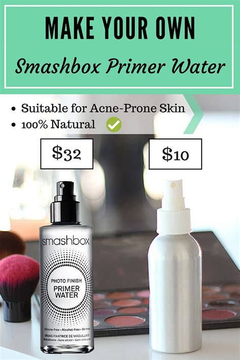 diy setting spray for skin diy make your own smashbox primer water