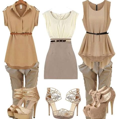 Dress With Belt W4975nt D Khaki 10 best images about clothing on white flowers